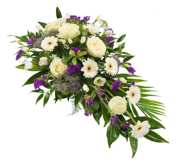 Begravningsdekoration sorg